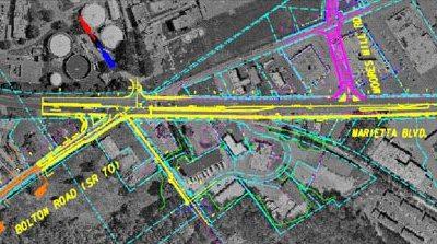 Marietta Boulevard/Bolton Road Traffic Study - Atlanta, GA