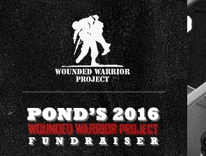 Pond Employees Come Through  for Wounded Warrior Project