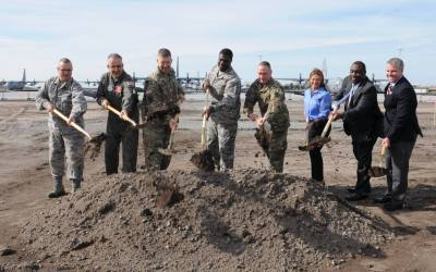 165th Airlift Wing Breaks Ground on Squadron Operations Building in Savannah