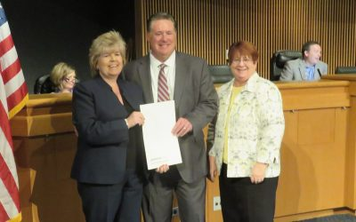 Gwinnett County Board of Commissioners commends Pond with proclamation