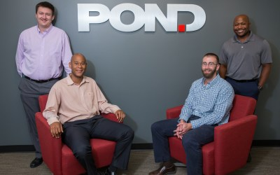 Pond initiates four into the AGC Young Leadership Program