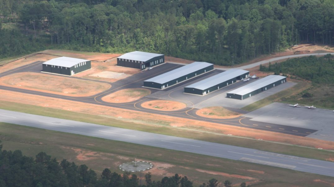 Hangar Development and Apron Paving, Harris County Airport PIM Pine Mountain Georgia 1