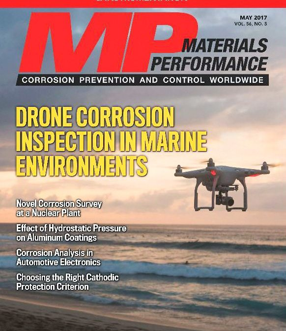 """""""New Pipe Surveying Method Aims to Limit Concrete Drilling"""" article featured in Materials Performance Magazine"""