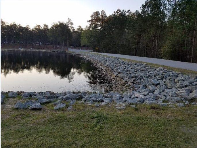 Magnolia Springs Dam Auxiliary Spillway Rehabilitation Magnolia Springs State Park Georgia