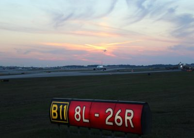 Runway 8L/26R - Hartsfield-Jackson Atlanta International Airport, GA