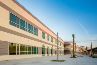 Allen Nease High School exterior building