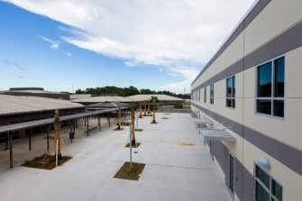 Allen Nease High School corridor view