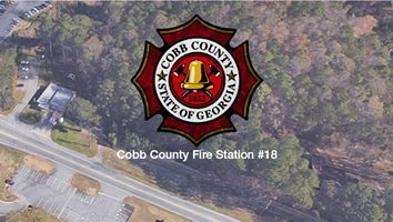 Construction of Cobb County Fire Station #18 underway