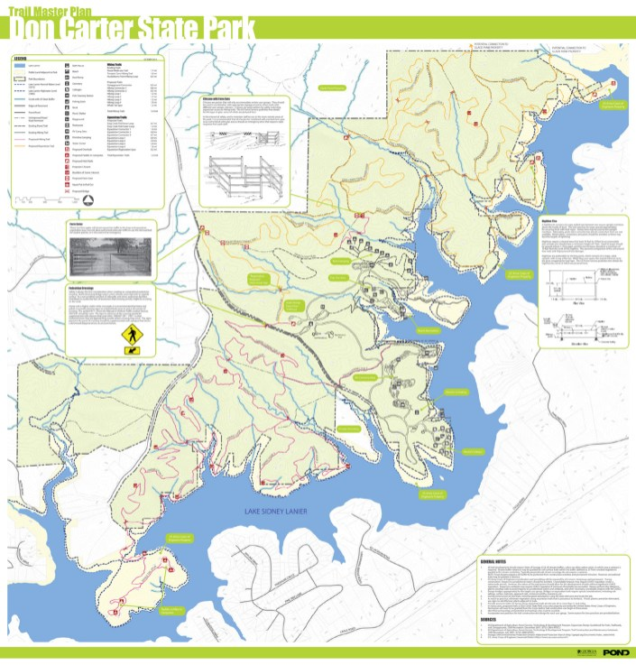 Don Carter State Park Hiking and Equestrian Trails Master Plan_Gainesville GA