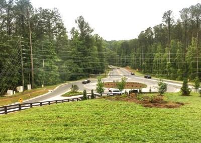Hopewell Road at Birmingham Road Roundabout - Milton, GA