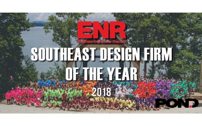 Pond named ENR Magazine's Southeast Design Firm of the Year