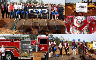 Pond celebrates Fire Station #56 Groundbreaking in Marietta, Georgia