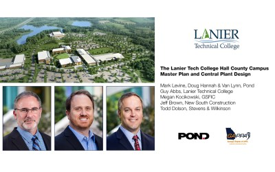 Pond delivers successful Lanier Technical College presentation at GAPPA