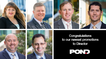 Pond Announces New Promotions to Director