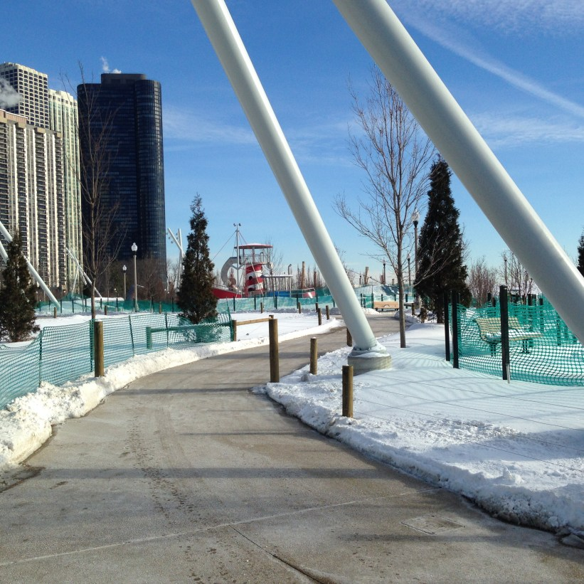 Trip to Chicago: Walking in the new Maggie Daley Park