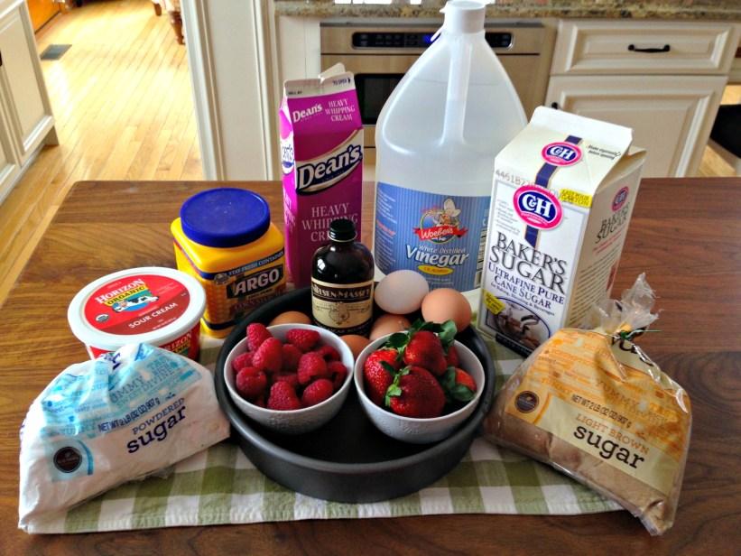 Three-Layer Berry Pavlova: Pavlova Ingredients