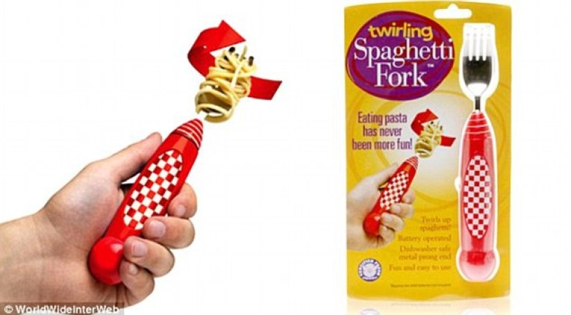 Utterly Useless Kitchen Gadgets: Pasta-Twisting Fork