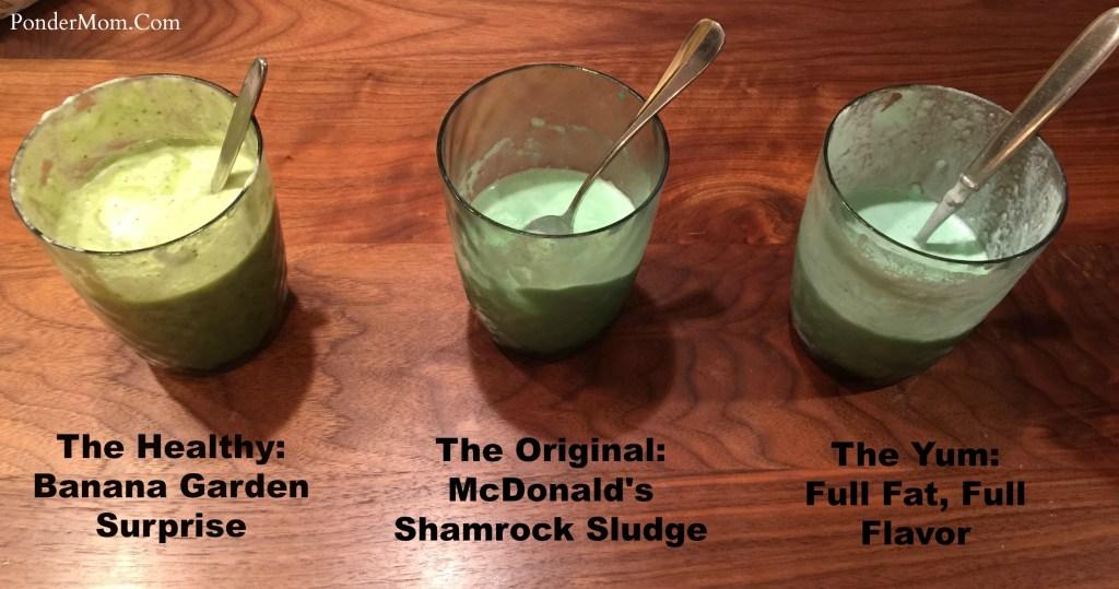 3 Shamrock Shakes