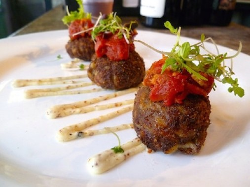 Spring break in New Orleans - Emeril's Boudin balls . . . oh my!