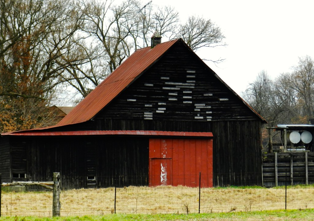 Spring break in New Orleans - black barn in KY to help cure the tobacco