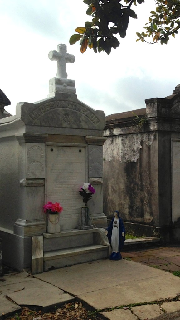 Spring break in New Orleans - above ground cemetery