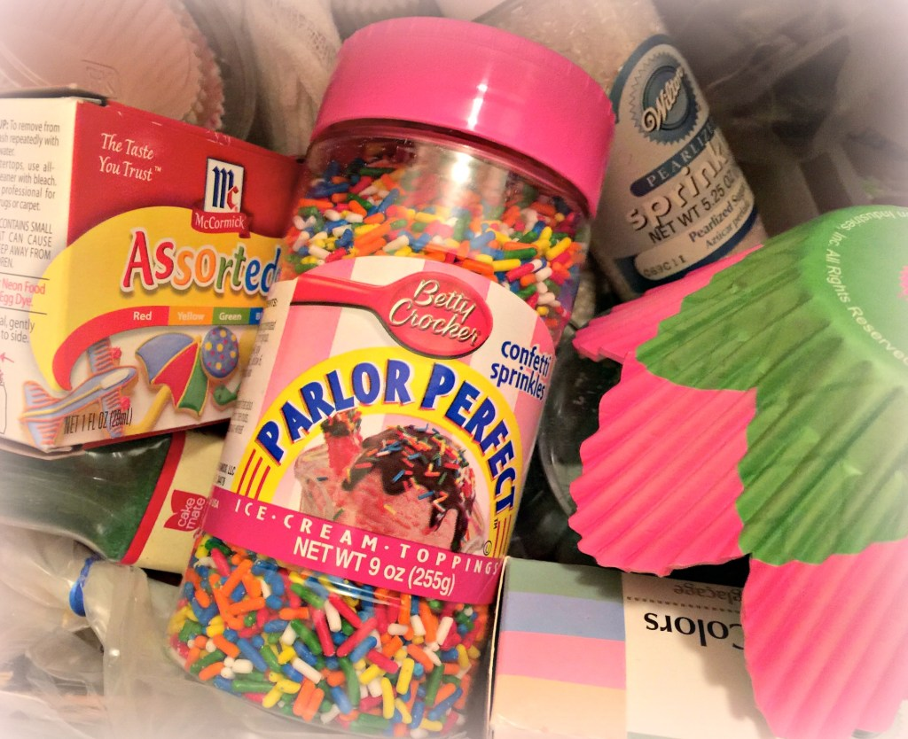 Every day beauty: topsy turvy baking supplies