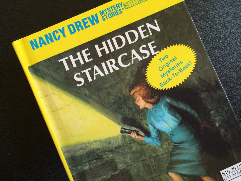 Revisiting Nancy Drew as an Adult: The mod 1960's Book Cover