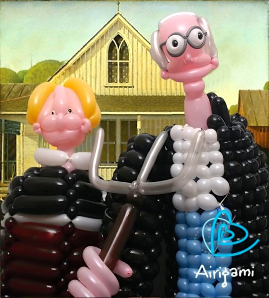 Parents Creatively Teaching Kids About Art: Balloon art