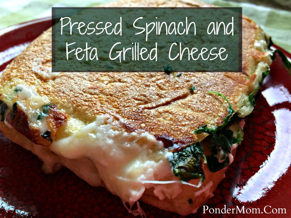 Reader Favorites: Spinach and Feta Grilled Cheese