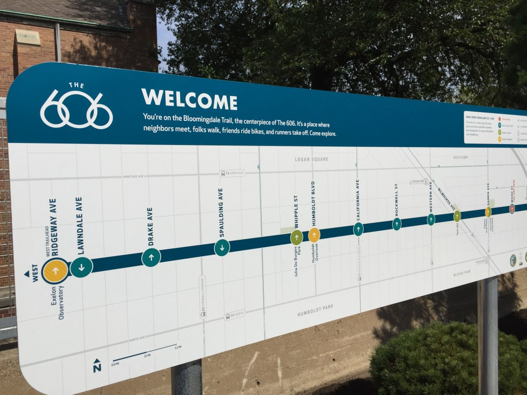 Chicago's 606 Bloomindale sky trail