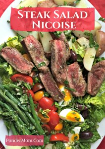 Steak Salad Niςoise