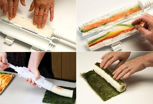 Sushi Rice Salad: Sushi Bazooka sushi pooper
