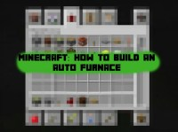Minecraft: How to Make an Auto Furnace - Ponder Monster
