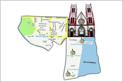 small resolution of sacred heart basilica puducherry
