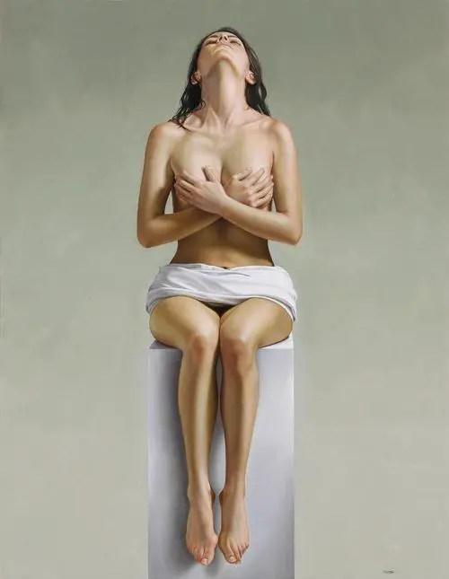 Hyper Realist Painting by Omar Ortiz
