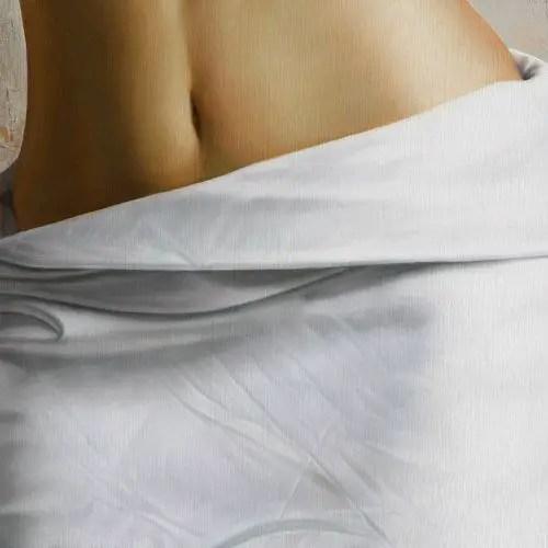 Realist Painting Body Study by Omar Ortiz