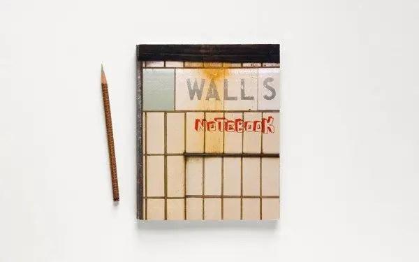 walls notebook 1 600x375 Street Art Notebook For Artists