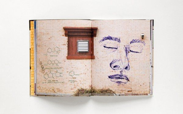walls notebook 5 600x375 Street Art Notebook For Artists