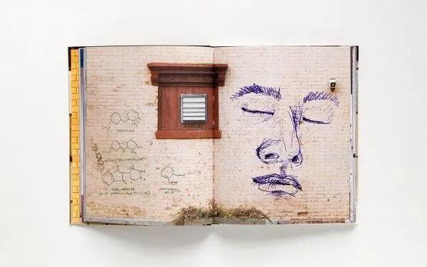walls notebook 5 600x375 Street Art Notebook For Artists