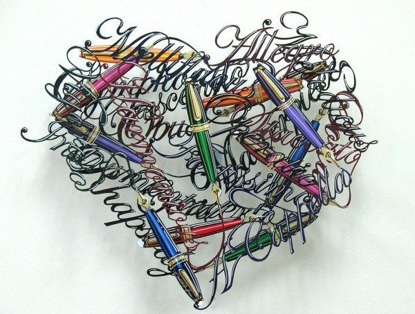 0020 Music In My Heart n 600x454 Unbelievable Metal Sculptures by David Kracov