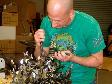 02 Unbelievable Metal Sculptures by David Kracov