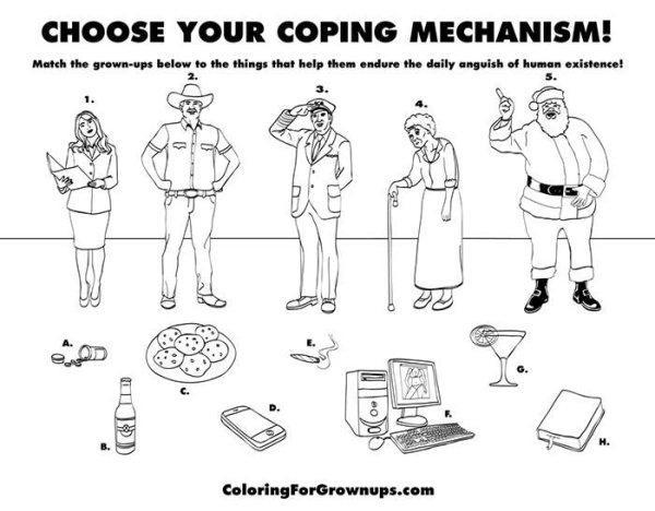 Hilarious Coloring Books For Adults By Ryan Hunter And