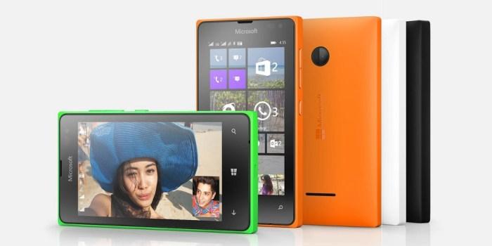 Variant Warna Lumia 435 | Foto oleh Microsoft