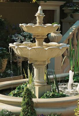 Stone Cast Water Features for your Garden Pond  Pond Stars UK