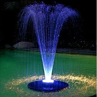 Alpine Floating Fountain - Small to Medium Ponds - PondUSA.com