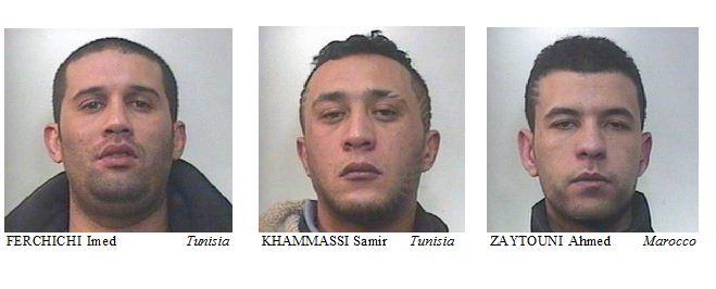 SANREMO maxi operazione dei Carabinieri contro il traffico di sostanze stupefacenti 5 arresti