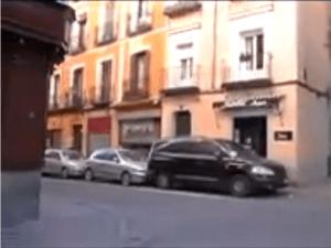 Calle Mediodía Chica con Calle Calatrava   Zona de La Latina   Madrid