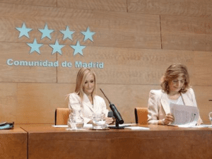 Cristina Cifuentes y Engracia Hidalgo | Presidenta y Consejera de Hacienda de la Comunidad de Madrid