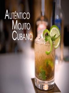 Auténtico Mojito cubano