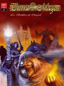 Tierra de magos - 1 - La sombra de Onegod | Trebi Mann | Octubre 2015 | Portada
